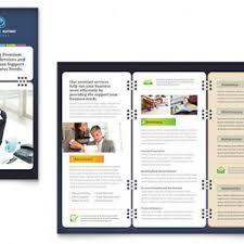 free trifold brochure template word publisher microsoft selimtd