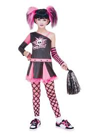 Gothic Halloween Costumes Girls Tween Gothic Cheerleader Costume Kids Costumes