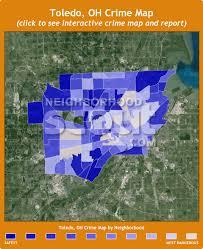 toledo ohio map toledo oh crime rates and statistics neighborhoodscout