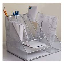 all in one desk organizer wonderful brilliant all in one silver wire mesh desk organizer wire