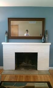 Painted Fireplaces Grey Painted Fireplaces Concrete Decoration Charming Gray And
