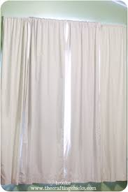 White Eclipse Blackout Curtains Diy Striped Blackout Curtains Using Scotchblue Painter U0027s Tape