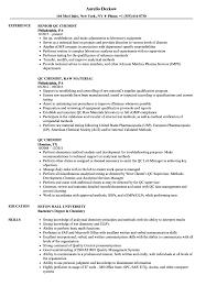 chemist resume objective chemist resume resume online builder