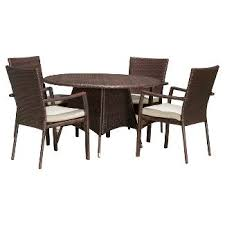 Wicker Patio Dining Sets All Weather Wicker Patio Furniture Target