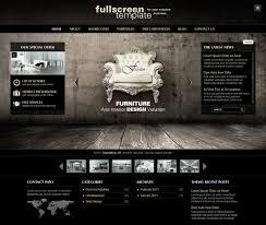 fullscreen wordpress theme with 3 different live demos click
