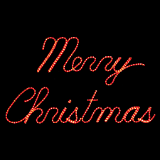 merry christmas signs merry christmas led rope light display 11 8 w
