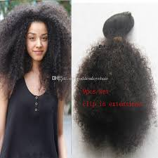 cheap clip in hair extensions cheap mongolian afro curly hai american clip