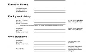 Fillable Resume Rusume Templates Management Resume Template Able Resume Templates