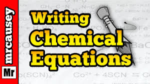 how to write reaction paper step by step how to write chemical equations mr causey s chemistry youtube