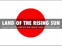 Japan Rising Sun Flag Japan By Alonzo Casino By Aldeane Ries Elementary
