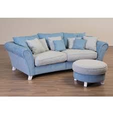 3 sitzer sofa 3 sitzer sofa mevrinus in blau beige aus stoff wohnen de