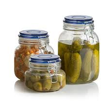 glass kitchen storage canisters klikel square glass kitchen storage canister jars clear