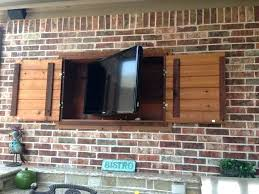 outdoor tv cabinet enclosure luxurious outdoor tv cabinet amazing cabinets for flat screens