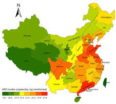 map of china and cities scientists map the distribution of antimicrobial resistance across