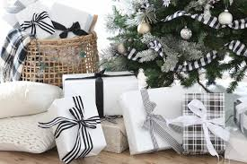 black and white christmas wrapping paper our favorite festive wrapping paper to take your gifts to the next