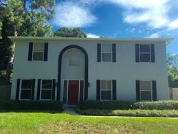 what color to paint ugly exterior arch