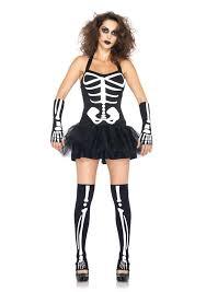 glow in dark bone skeleton tutu dress women u0027s halloween