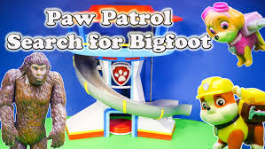 Scooby Doo Halloween Costumes For Family by Paw Patrol Nickelodeon Paw Patrol Search For Bigfoot Yeti A Paw