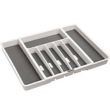 Kitchen Cabinet Divider Organizer Shop Drawer Organizers At Lowes Com