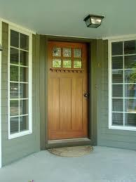 how to build a solid wood door craftsman style doors