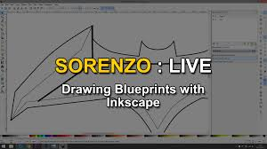 Blueprints by Sorenzo Live Drawing Blueprints With Inkscape Youtube