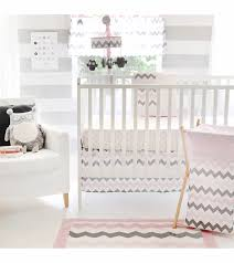 Pink Chevron Crib Bedding My Baby Sam Chevron Baby Pink 3 Crib Bedding Set