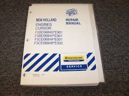 new holland t5040 t5050 t5060 tractor engine workshop shop service