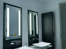 bathroom mirrors with lights behind bathroom mirror light bulb change how to pick a modern with lights
