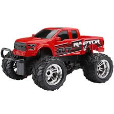 Ford Raptor Model Truck - new bright 1 18 2 4ghz remote control red ford raptor by new