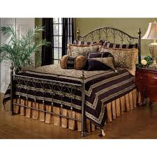 Iron Bed Set Huntley Iron Bed In Dusty Bronze Humble Abode