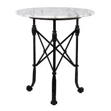 Tall Outdoor Table Marble Side Table Rentals Event Furniture Rental