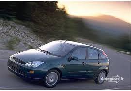 Ford Focus 1999 Interior Ford Focus I 1 8 Tddi Ambiente 1999 2001 Autogidas