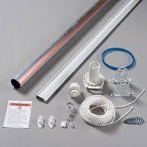 Roman Shade Hardware Kits - track u0026 roller shade hardware curtain track roller shade kits