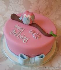 cute owl birthday cake cake by jo u0027s cakes cakesdecor