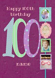 unique 100th birthday cards funky pigeon