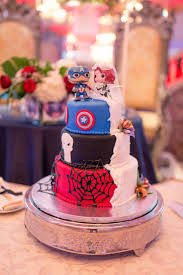 Halloween Themed Wedding Cakes Best 25 Superhero Wedding Cake Ideas On Pinterest Geek Wedding