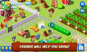 download game farm village mod apk revdl green farm 3 4 0 6 mod unlimited money apk home