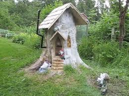 best 25 gnome tree stump house ideas on pinterest fairy tree