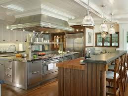 Traditional White Kitchens - a chef u0027s dream kitchen peter salerno hgtv