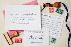 pink wedding invitations navy and hot pink wedding invitations