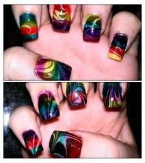 136 best rainbow nails images on pinterest rainbow nails nail