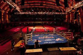 Radio City Music Hall Floor Plan by In A Rare Show At Radio City Two Prizefighters Will Take The