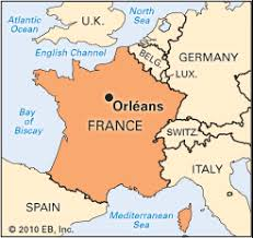 orleans map map of orleans travel