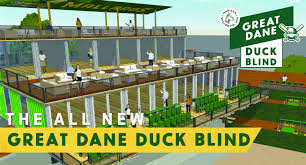 Blind Great Dane Madison Mallards Announce Duck Pond Renovation In Business