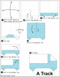 truck instructions origami truck instructions beautiful origami free download