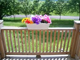 planter boxes home depot creation decoration outdoor deck rail