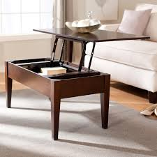 Storage Coffee Table by Brown Leather Couches With Vintage Lift Top Coffee Table With