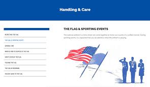 Flag Folding Website Design U0026 Development For National Flag Foundation