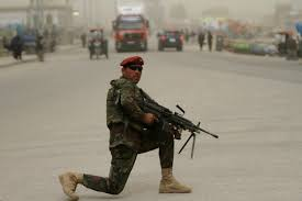 Taliban Flag At Least 100 Afghan Soldiers Killed In Taliban Attack On Military
