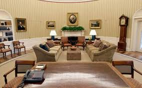 Trump Gold Curtains by Following Tradition Obama Redecorates Oval Office Mcclatchy
